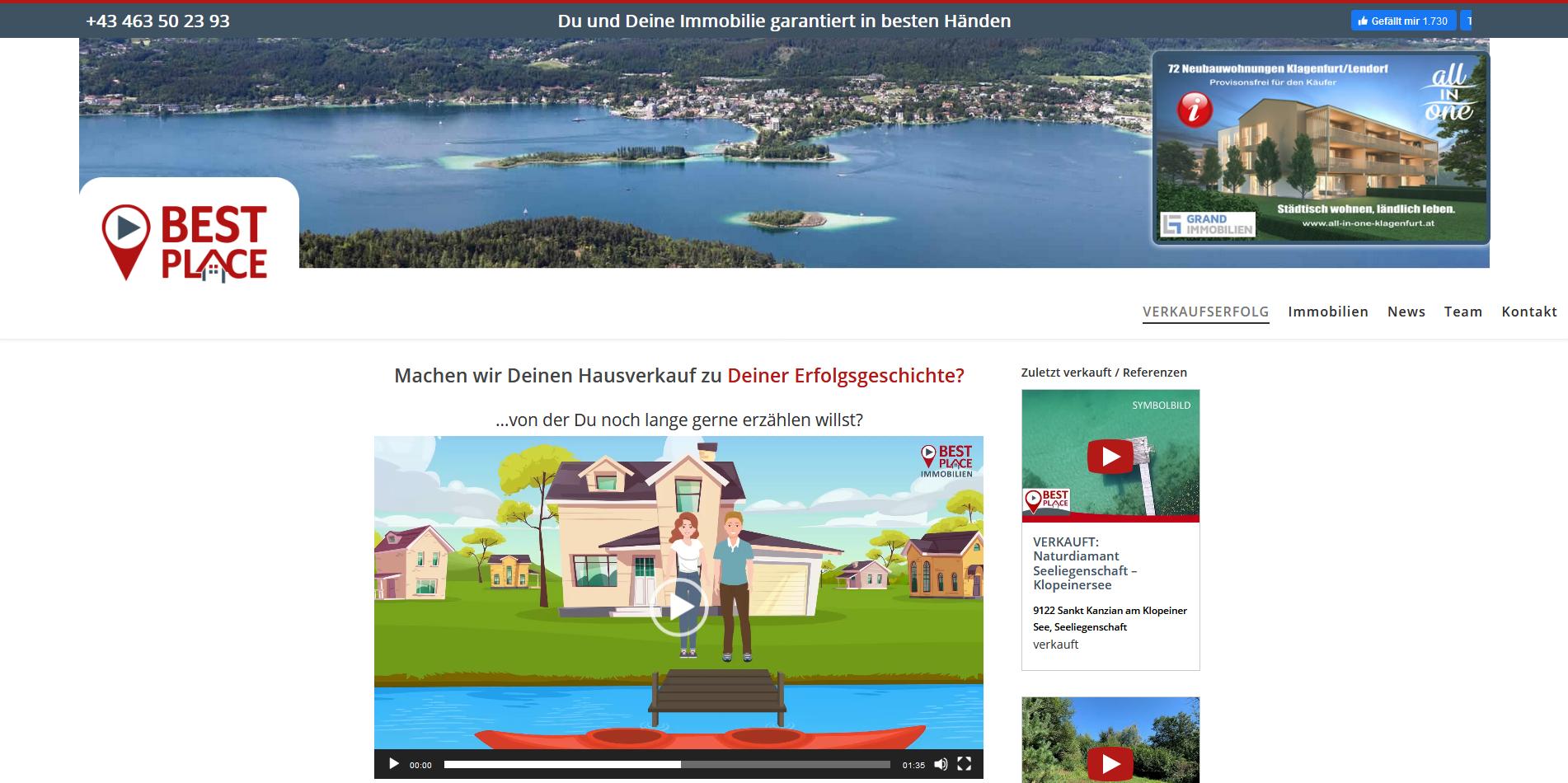 Bestplace Immobilien Klagenfurt